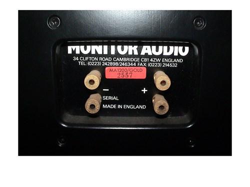 MONITOR AUDIO MA1200 GOLD