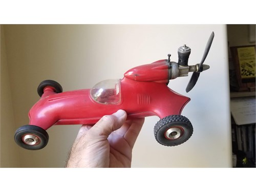 Cox Tether Car Gas