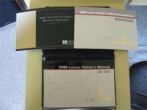 Lexus 1996 GS300 Owners m