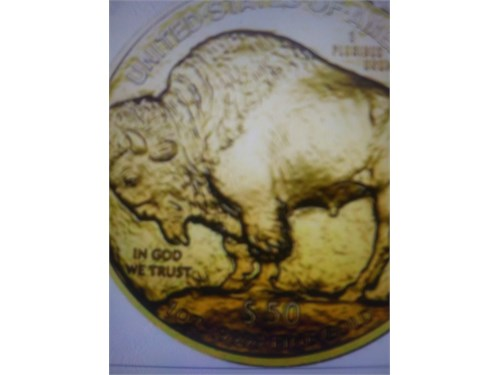 1 ounce gold buffalo coin