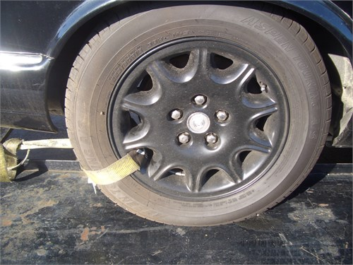jaguar xj8 wheels tires