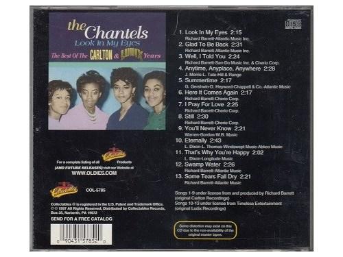 CHANTELS - Rare*Mint-CD !