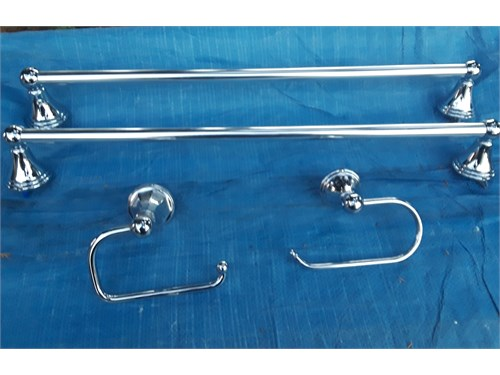 Towel Bar & Toilet set