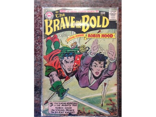 DC - Brave and Bold, 1958