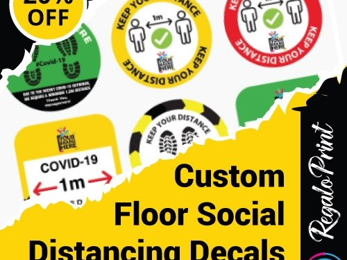 Customized Floor Decals