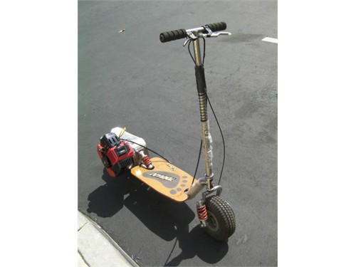 NEW 49cc Big-Foot Scooter