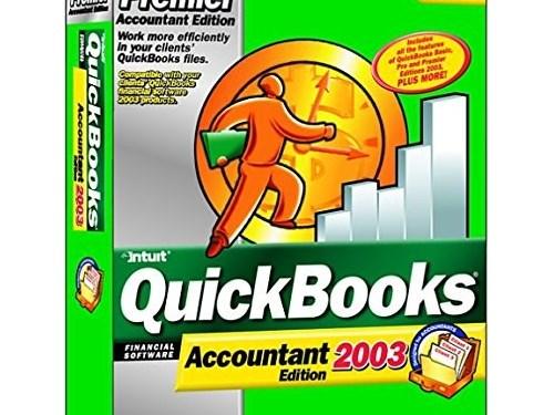 QuickBooks 2003 Premier