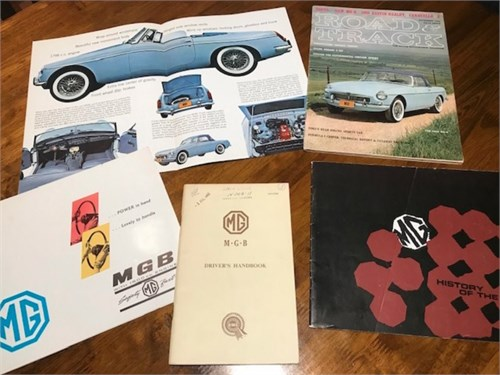 Classic 1963 MGB Convert