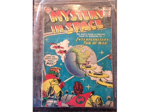 Mystery in Space #47 1958
