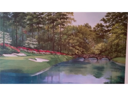 PRINT OF AUGUSTA NATIONAL