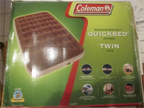 NEW COLEMAN TWIN Quickbed