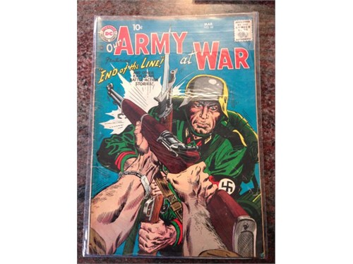Our Army at War #68, 1958