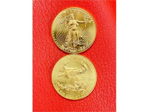 GOLD COINS 1 oz USA Eagle