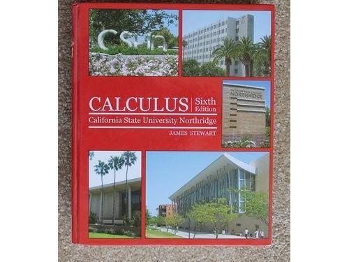 Calculus 6th E CSUN