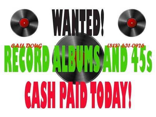 BUYING RECORDS!!