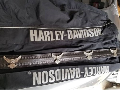 HarleyD Leather belt SZ32