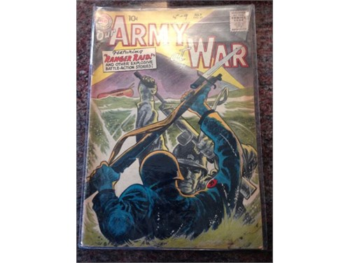 Our Army at War #60, 1957