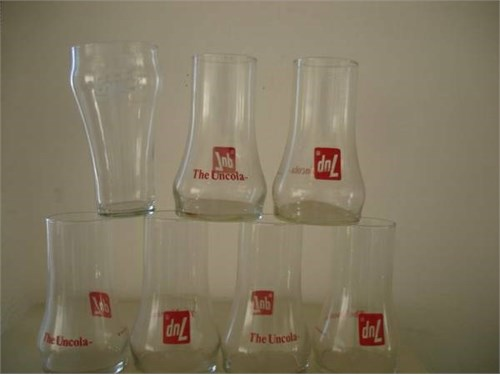 7 UP~THE UNCOLA GLASSES !