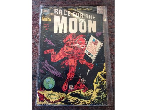 Race for the Moon No. 3