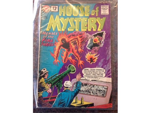 House of Mystery#117 1961