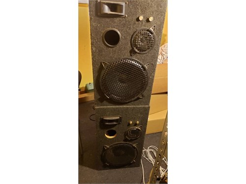 Speakers Pro DJ 3way pair