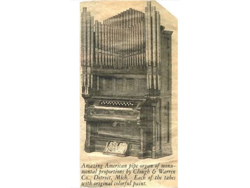 1884 Antique Pipe Organ