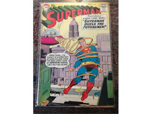 "DC ""Superman"" #128 1959"