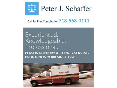 Bronx Personal Injury Law