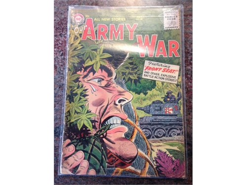Our Army at War #48, 1956