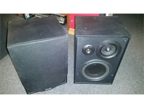 KLH L853b Speakers 3 way