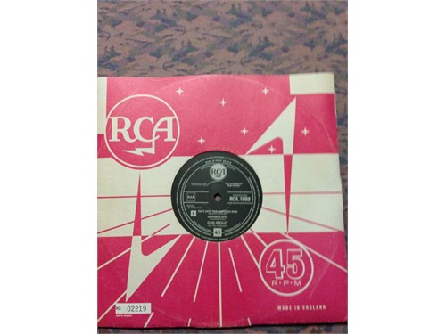 Elvis Record 45 RPM RCA
