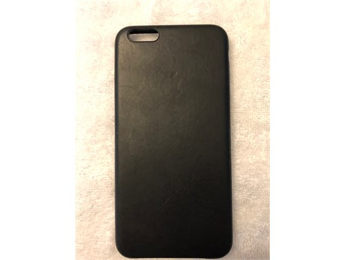 Apple leather phone case