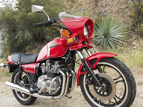 1982 Yamaha 550 Seca
