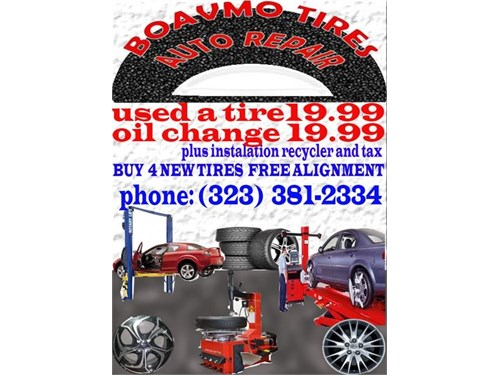 TIRES SERVICES AT HOME