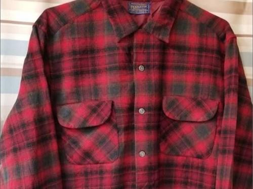 Pendleton Flannel Red/Blk