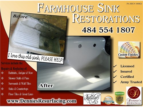 Old Tub/Sink Restorations