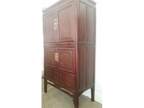 Exquisite Chinese Armoire