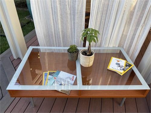IKEA Glasstop Coffee Tab