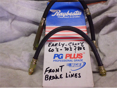 FRONT BRAKE LINES/CHEVY