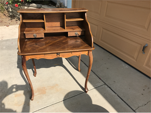 Antique Captain Desk