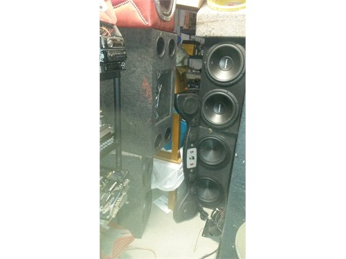 Car Audio Garage Full