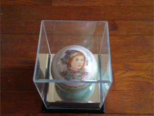 Hibel Paperweight -Signed
