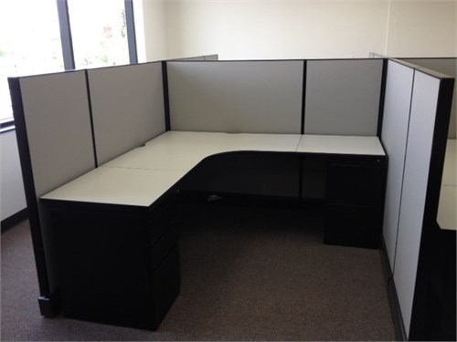 Used Herman Miller cubes