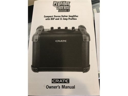 Like New Crate Profiler 5