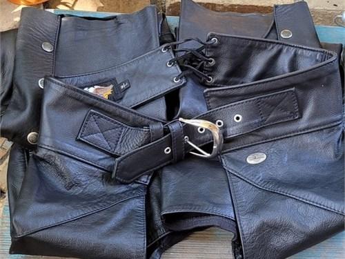 HD women's Leather chaps