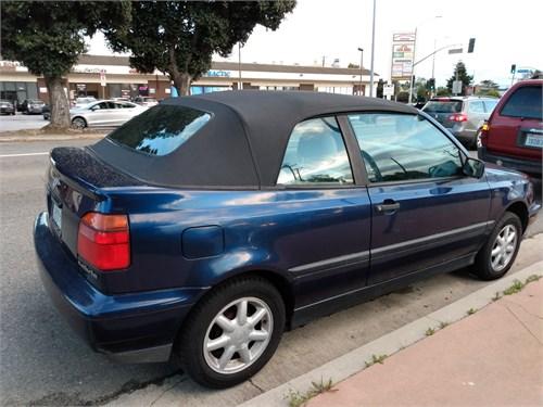 95' VW Cabrio New Top