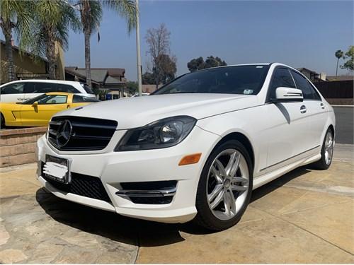 2014 Mercedes Benz -white