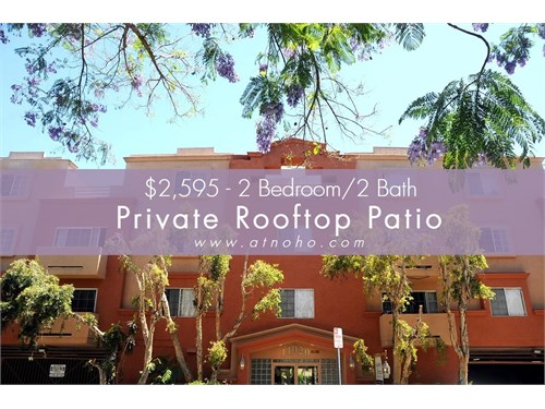 Rare 2 Bed -Private Patio