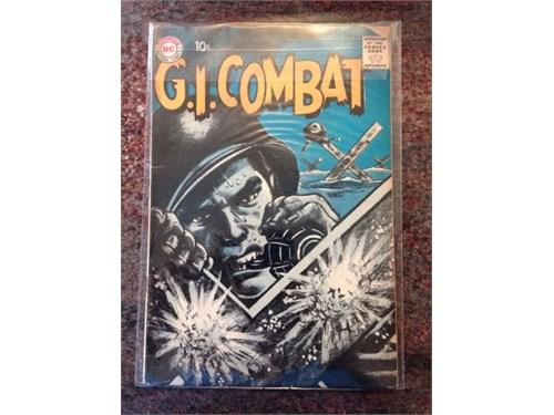 """DC """"G.I.Combat"""" #75, 1959"""