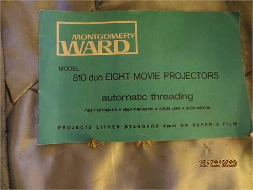 Montgomery Ward projector